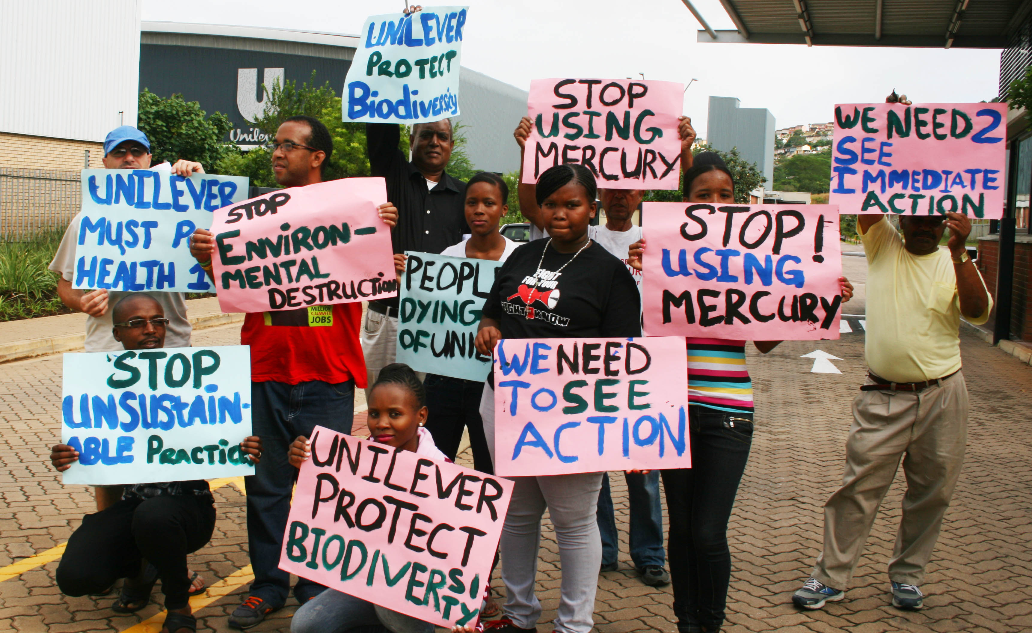 Voices against Unilever from Durban