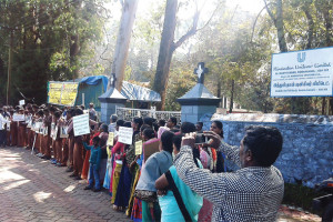 Sustained campaign Former HUL employees observe a Global Day of Action every year to highlight violations of environmental and labour standards by the company
